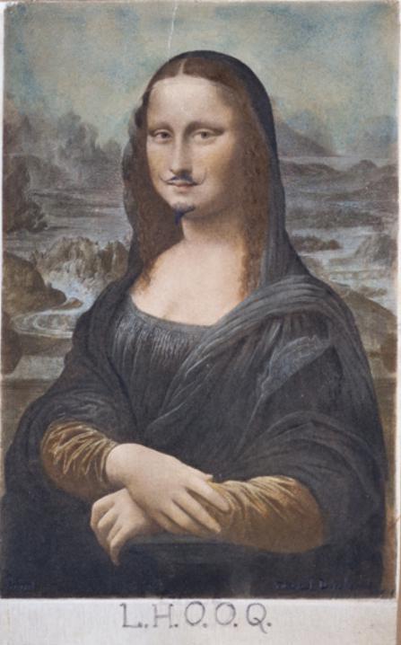Oeuvre de Marcel Duchamp exposée à beaubourg