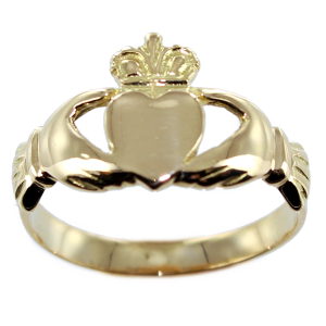 Bague foi de promesse: les mains, le cœur et la couronne